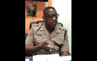Senior Superintendent of Police Wayne Cameron.