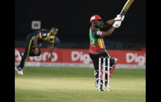Action between the Jamaica Tallawahs and the St Kitts and Nevis Patriots at Sabina Park during the Hero Caribbean Premier League Twenty20 competition last season.