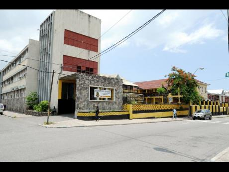 A student of Kingston Technical High was injured after she was tricked into doing the Jump Trip Challenge.