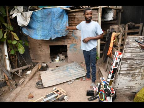 Waterhouse resident Dwayne Henry wants the chance for a better life, not only for himself but also his mother, who he says has been struggling to make ends meet.
