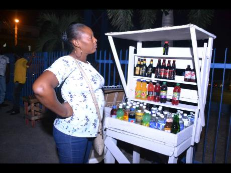 Drinks vendor Kereen is among those who would like to see the 11 p.m. curfew time pushed back.